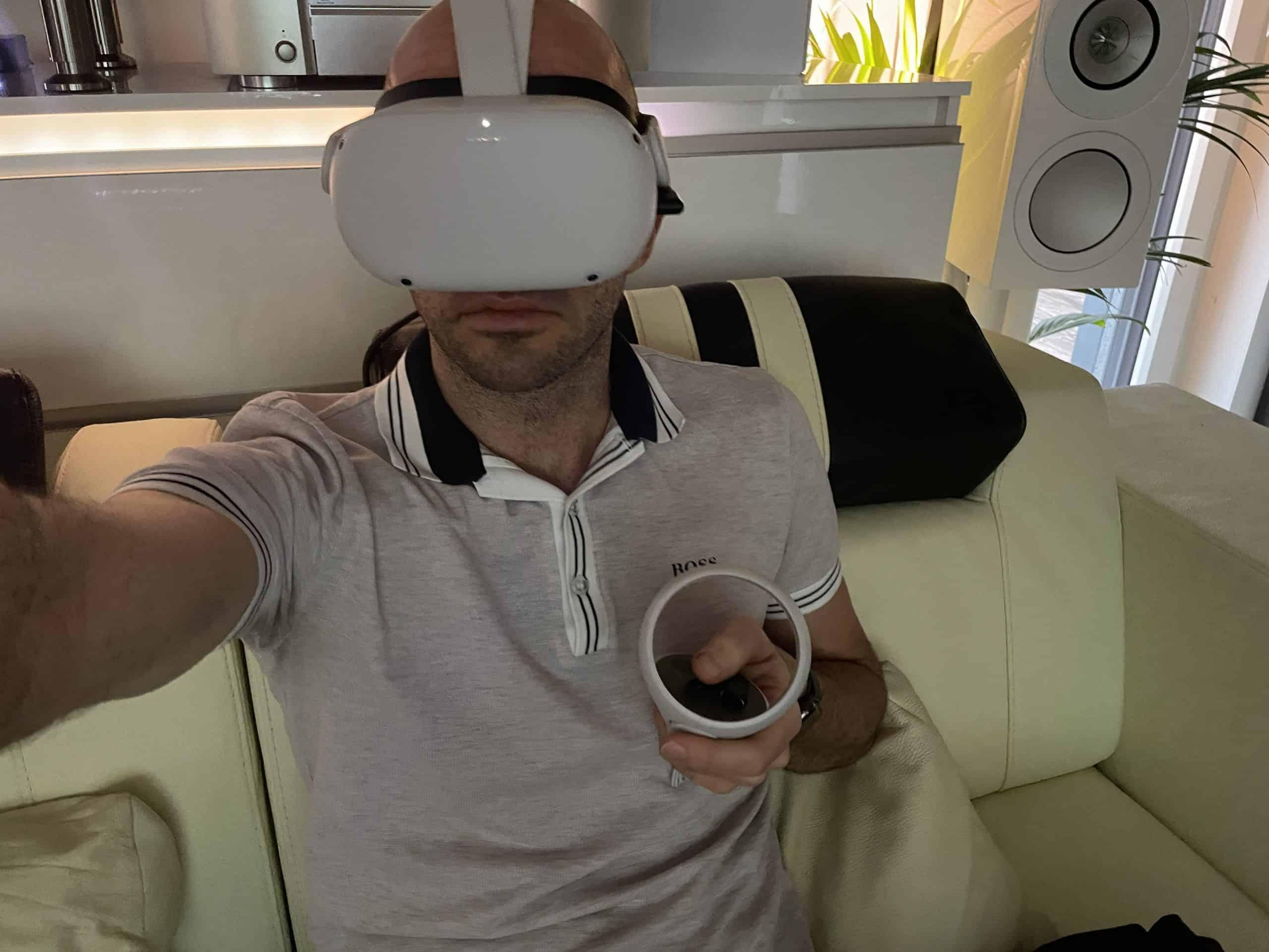 Virtual Reality Test