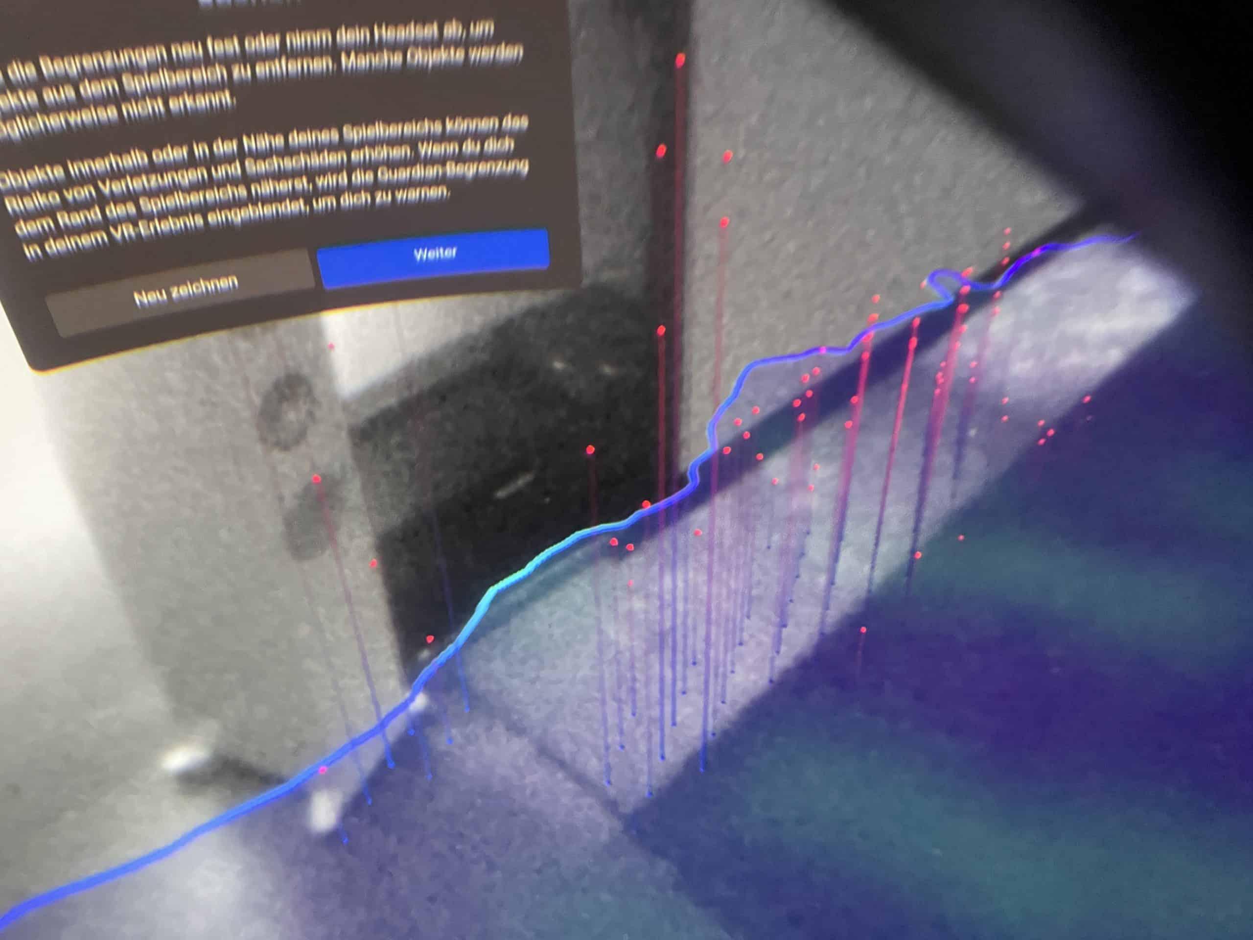VR Raumabgrenzung 2