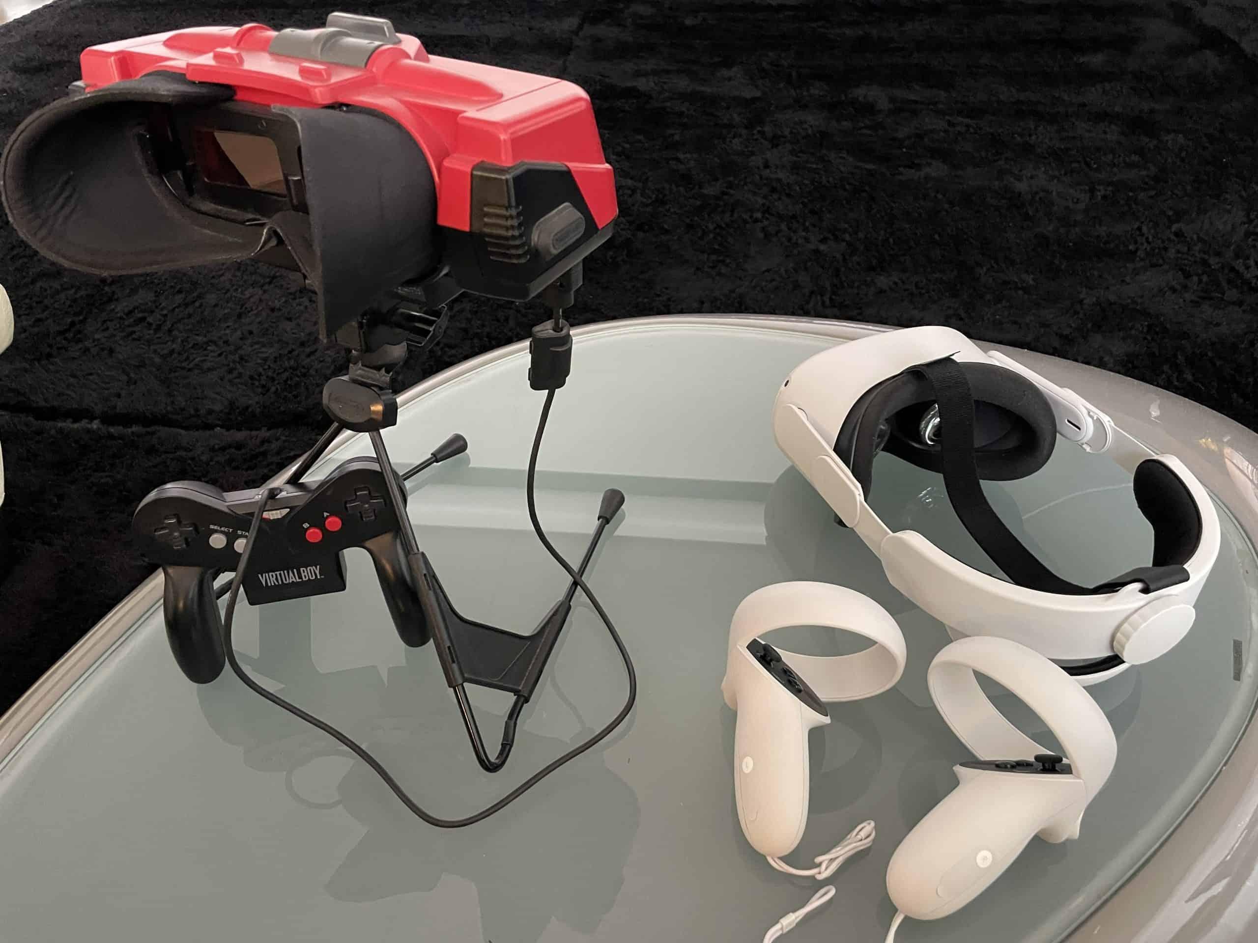 Nintendo VR Brille 90er