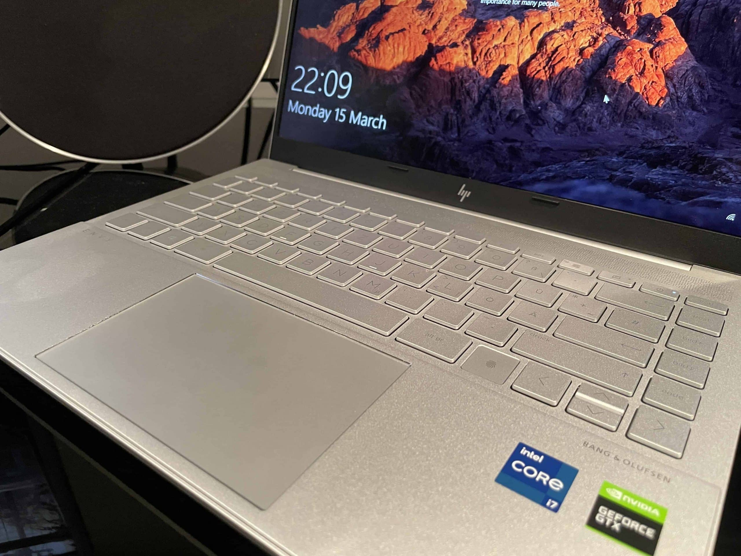 HP Envy 14 tastatur