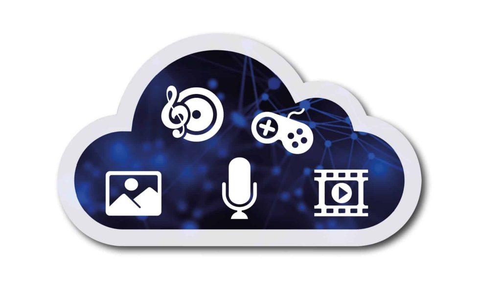 Ein Symbolbild für einen Cloud-Speicher