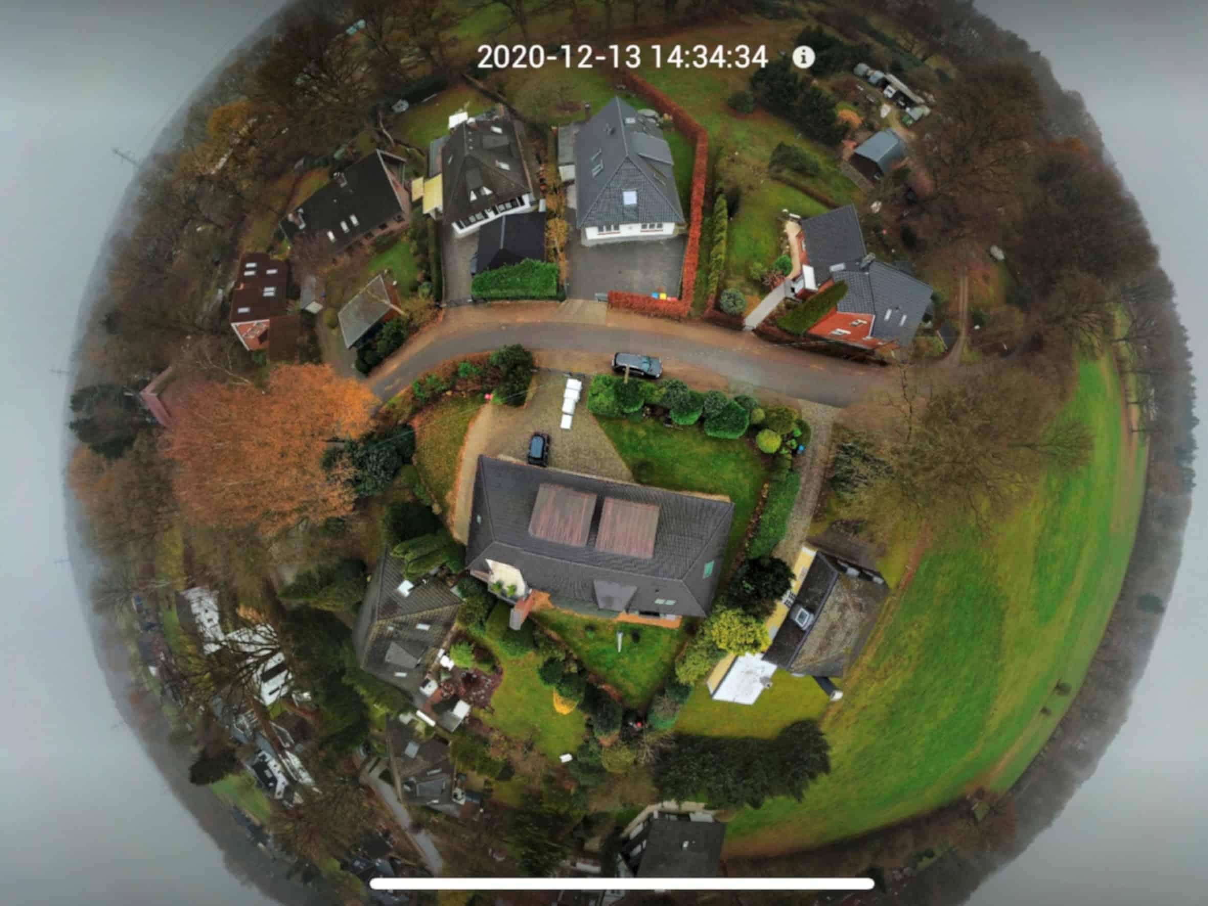 DJI Drohne Panoramafunktion im Test