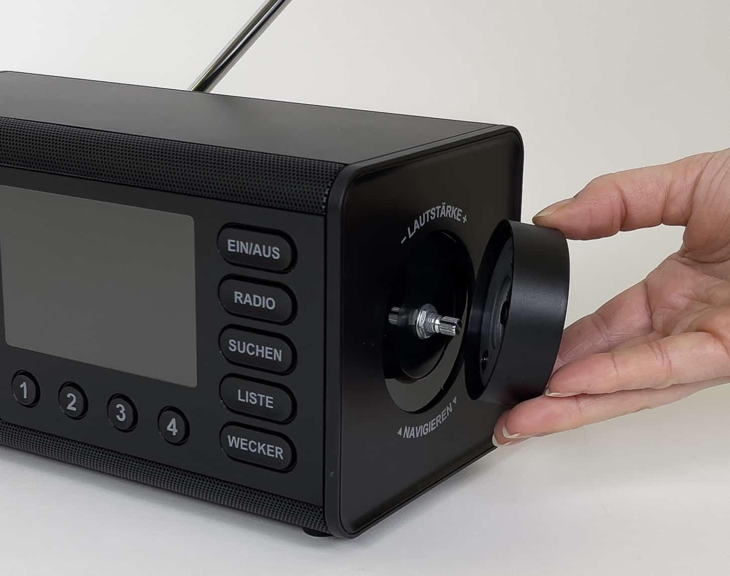 Digitalradio von Hama mit Regler
