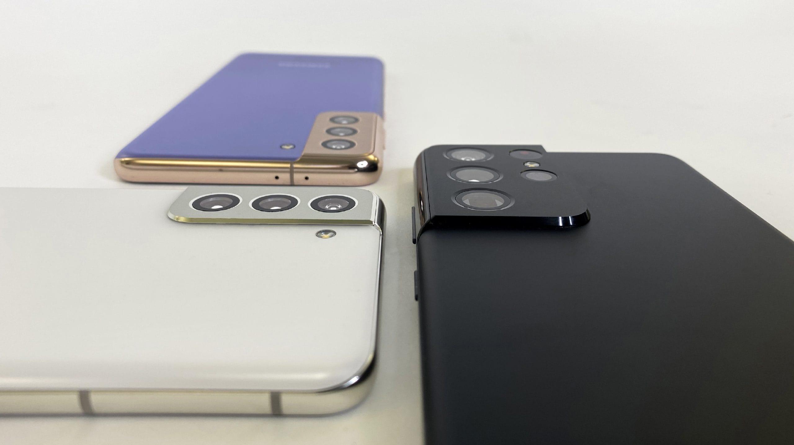 Kameravergleich bei den Samsung Galaxy S21