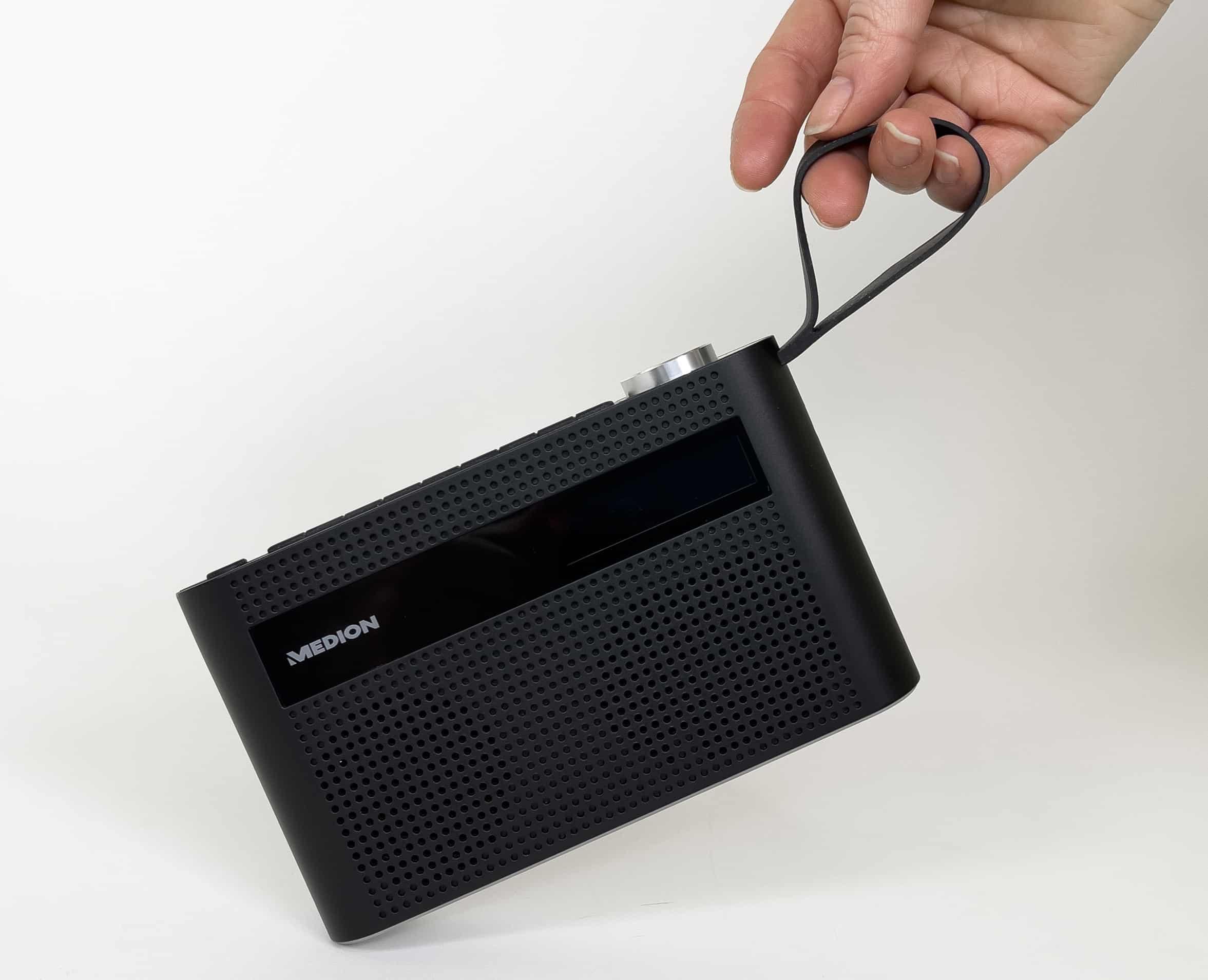 DAB+ Radion von Medion mit Schlaufe