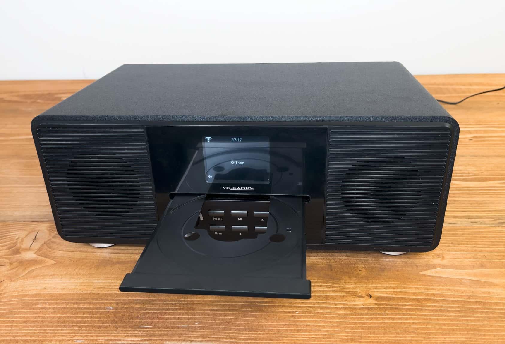 Digitalradio von Pearl mit CD-Laufwerk