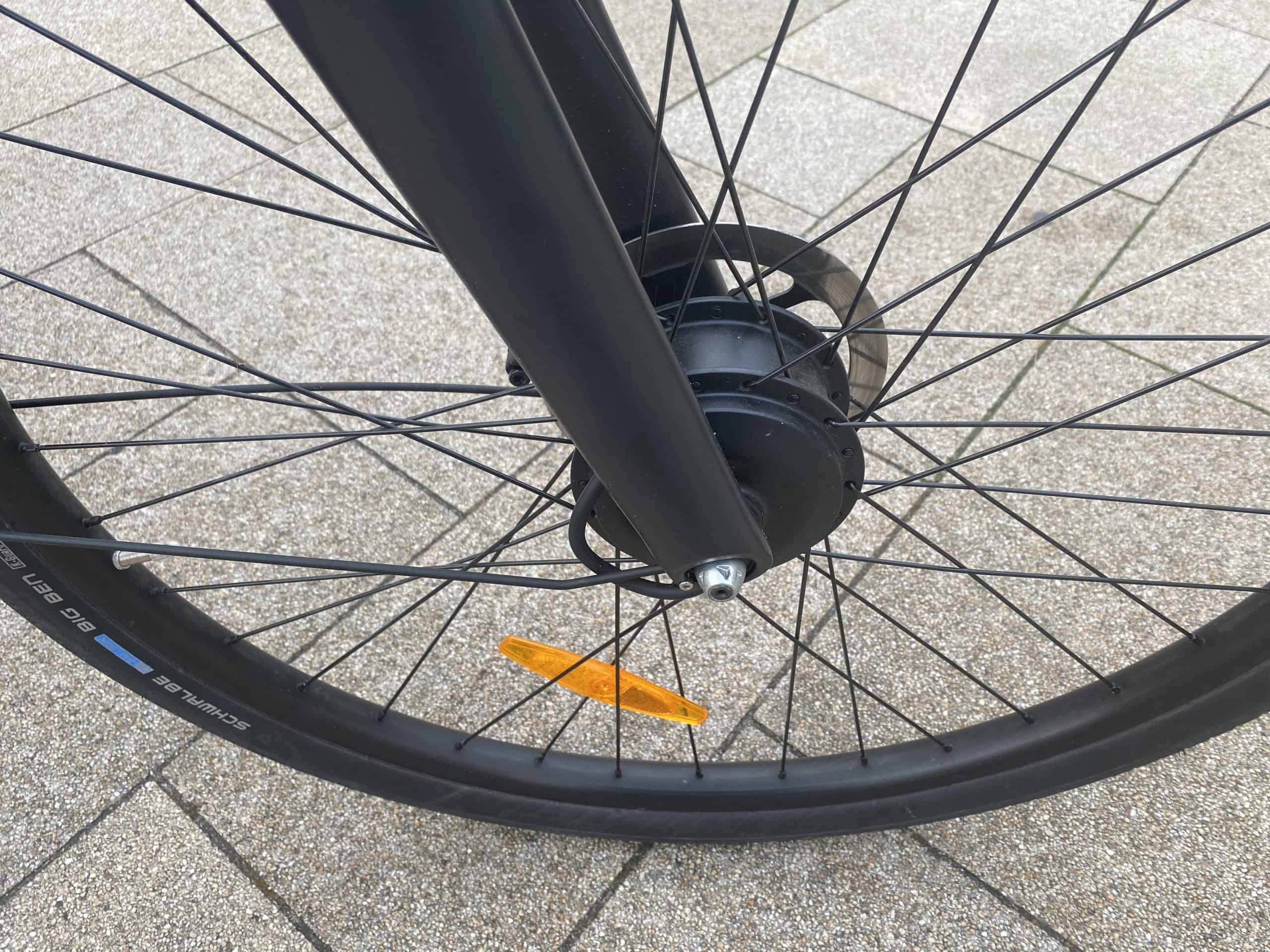Vorderrad am E-Bike VanMoof S3