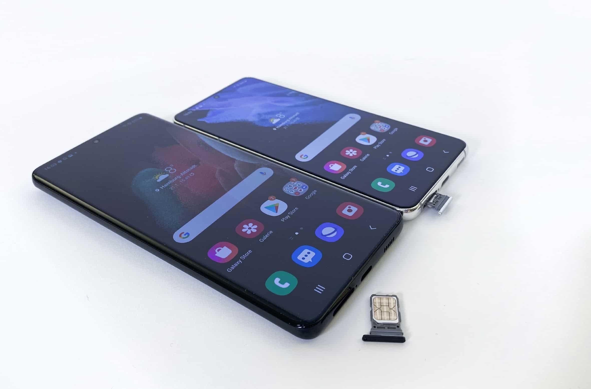 Samsung Galaxy S21 ohne SD-Slot