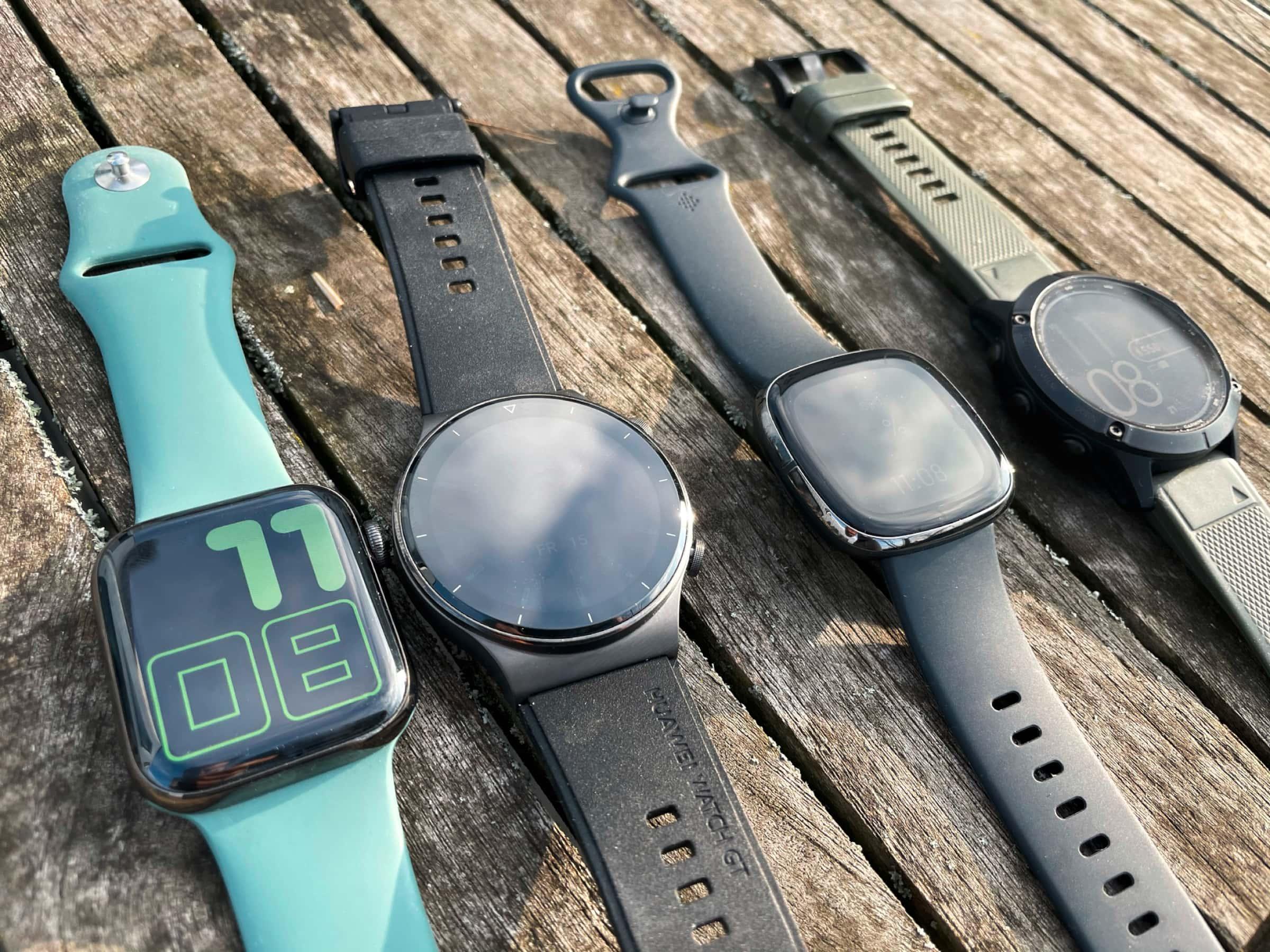 Smartwatches Bildschirme im Test
