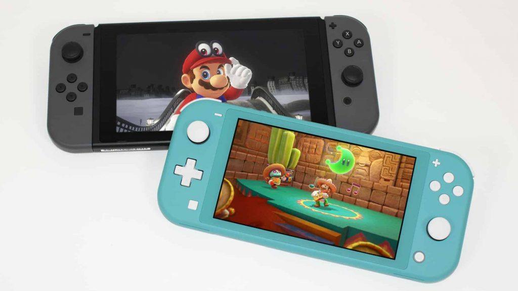 Die Lite ist etwas kleiner als die Switch, auch der Bildschirm. Dafür ist er geringfügig schärfer als das Display der großen Switch.