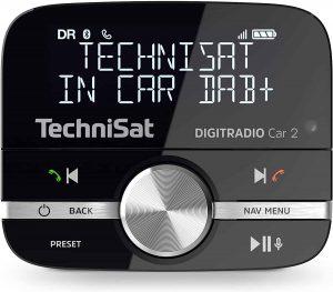 Von TechniSat gibt es Digitradio Car 2 DAB+ Adapter zum Aufrüsten von Auto-Radios für DAB+-Sender mit Bluetooth und Freisprecheinrichtung ab 89  Euro. (Bild: Hersteller)