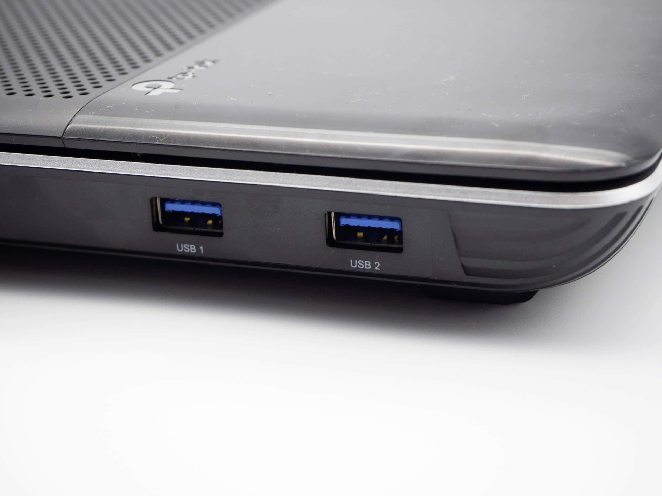 WLAN-Router mit USB-Ports im Test
