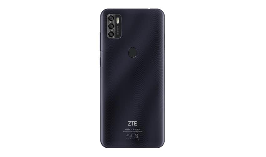 Das ZTE Blade A7s 2020 bietet auf der Geräte-Rückseite ein Dreifach-Kamera-System mit 16MP-, 8MP- und 2MP-Linse.