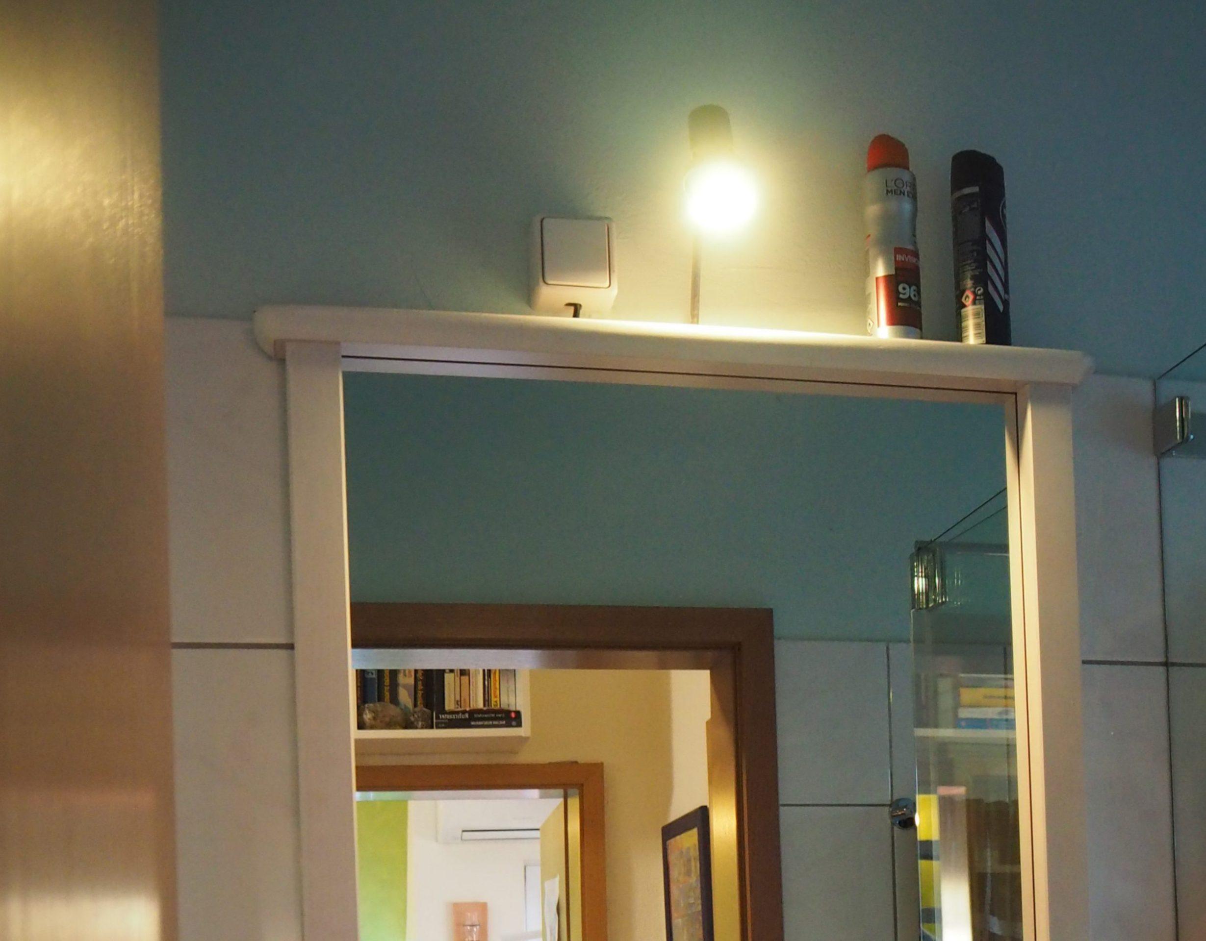Lidl Smarthome Leuchtmittel im Bad, Test