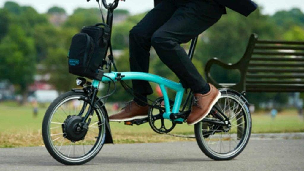 Das Brompton E-Bike