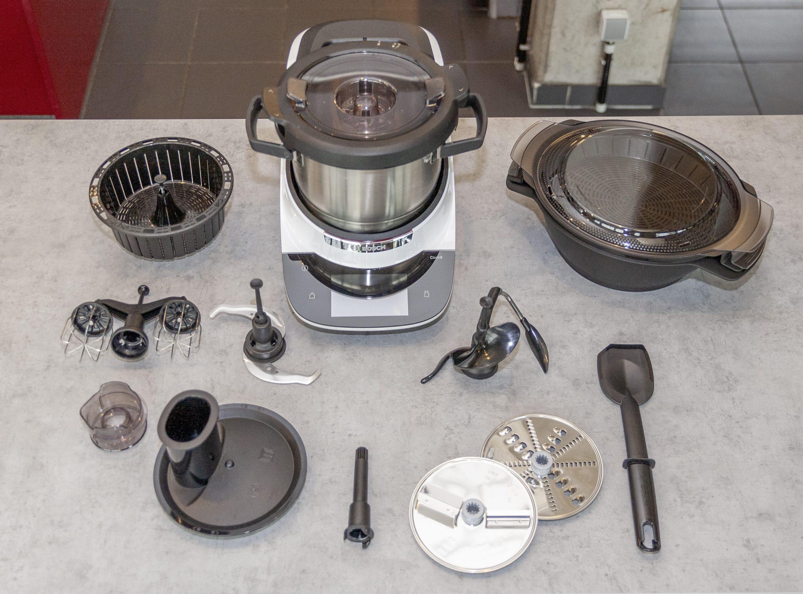 Der Cookit von Bosch, Küchenmaschine mit viel Zubehör
