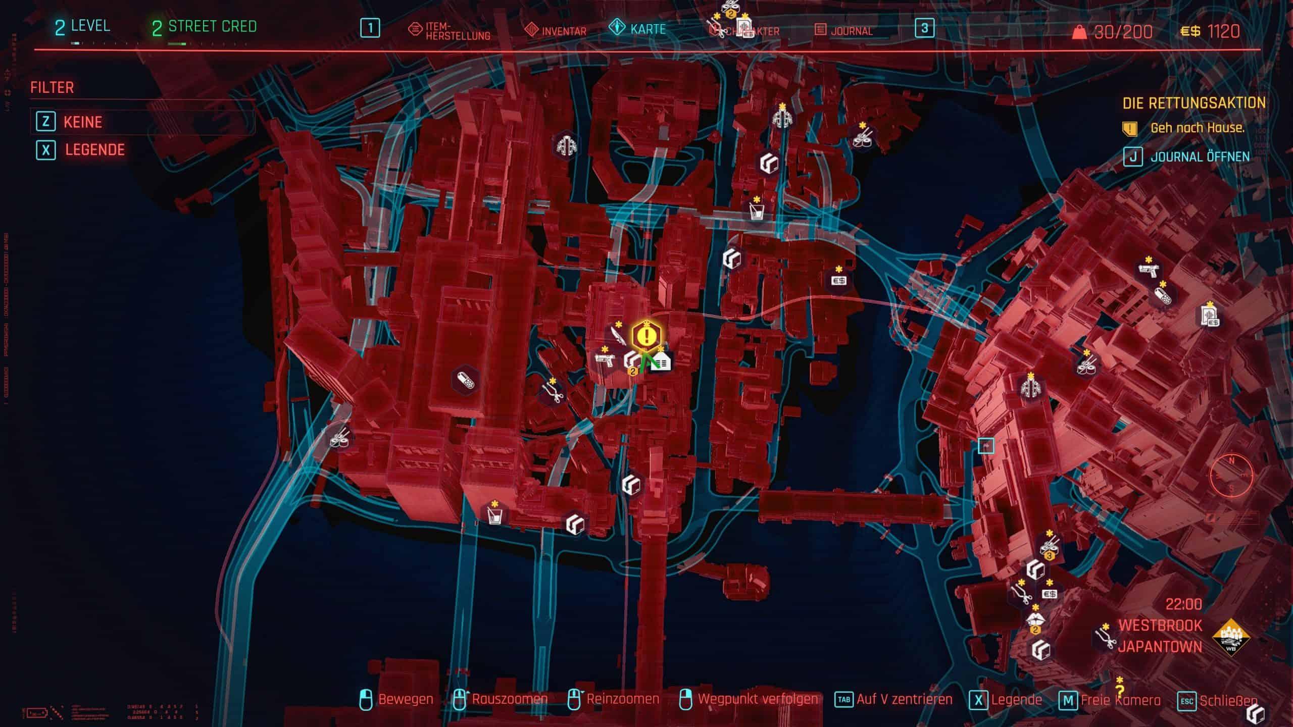 Cyberpunk 2077 Karte