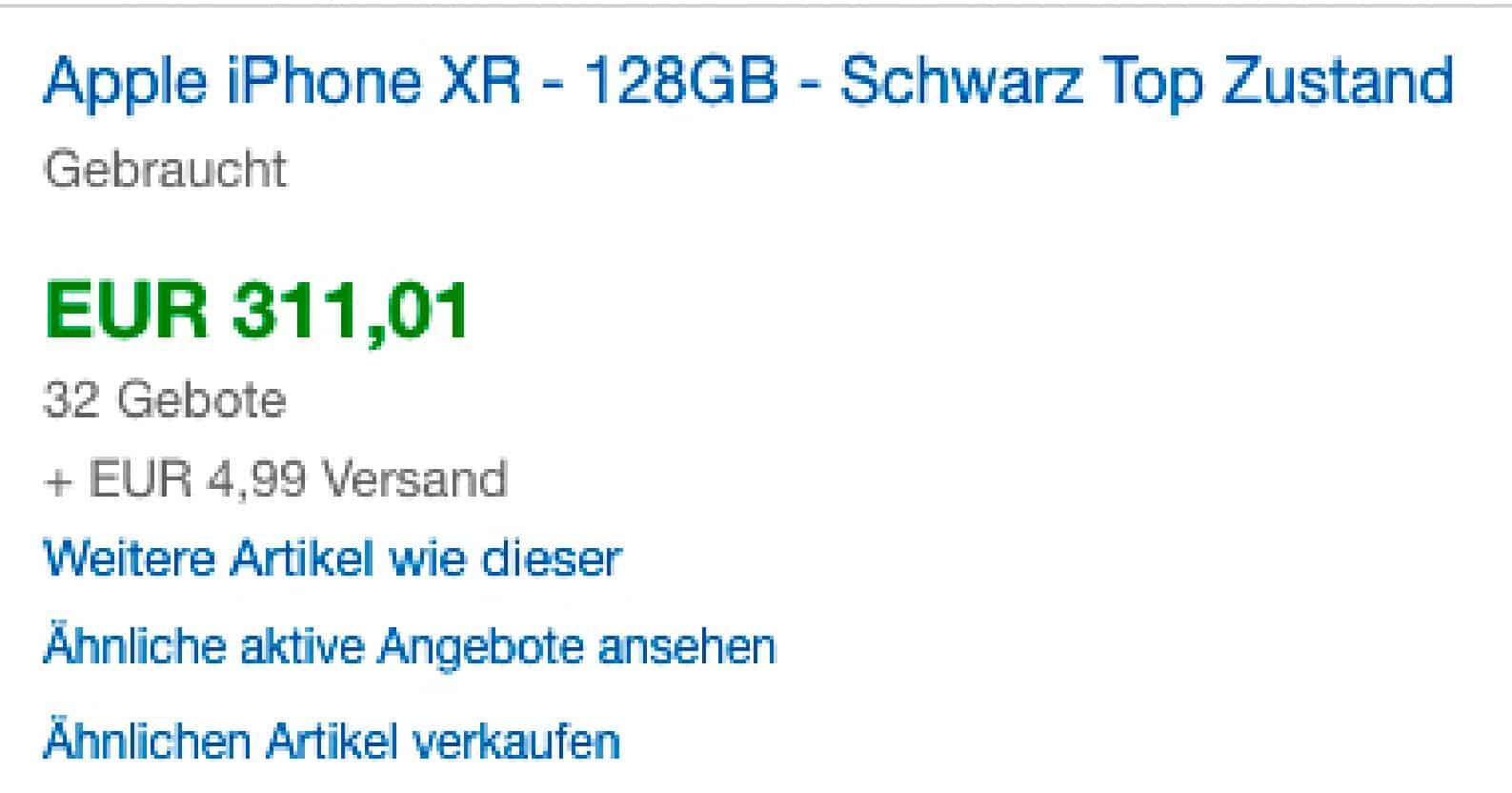 Bei eBay verkaufte Produkte anzeigen lassen