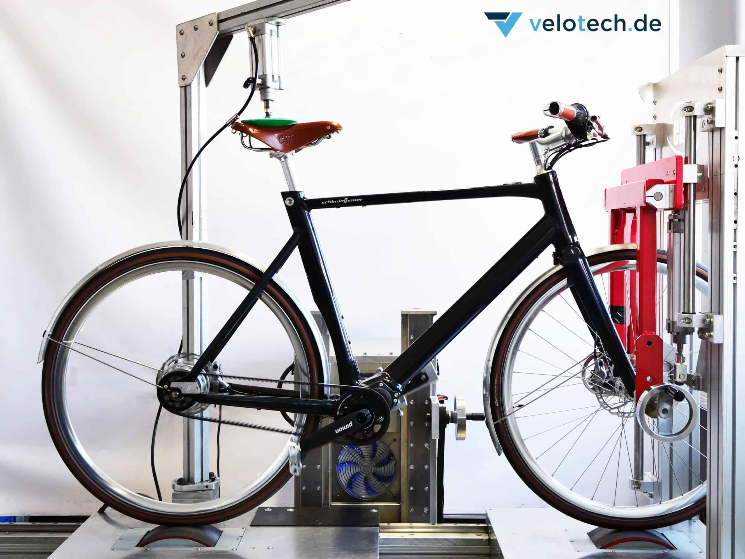 E-Bikes im Labor