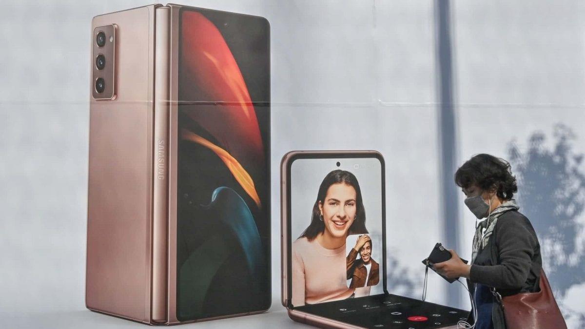 Klapp-Smartphone Samsung