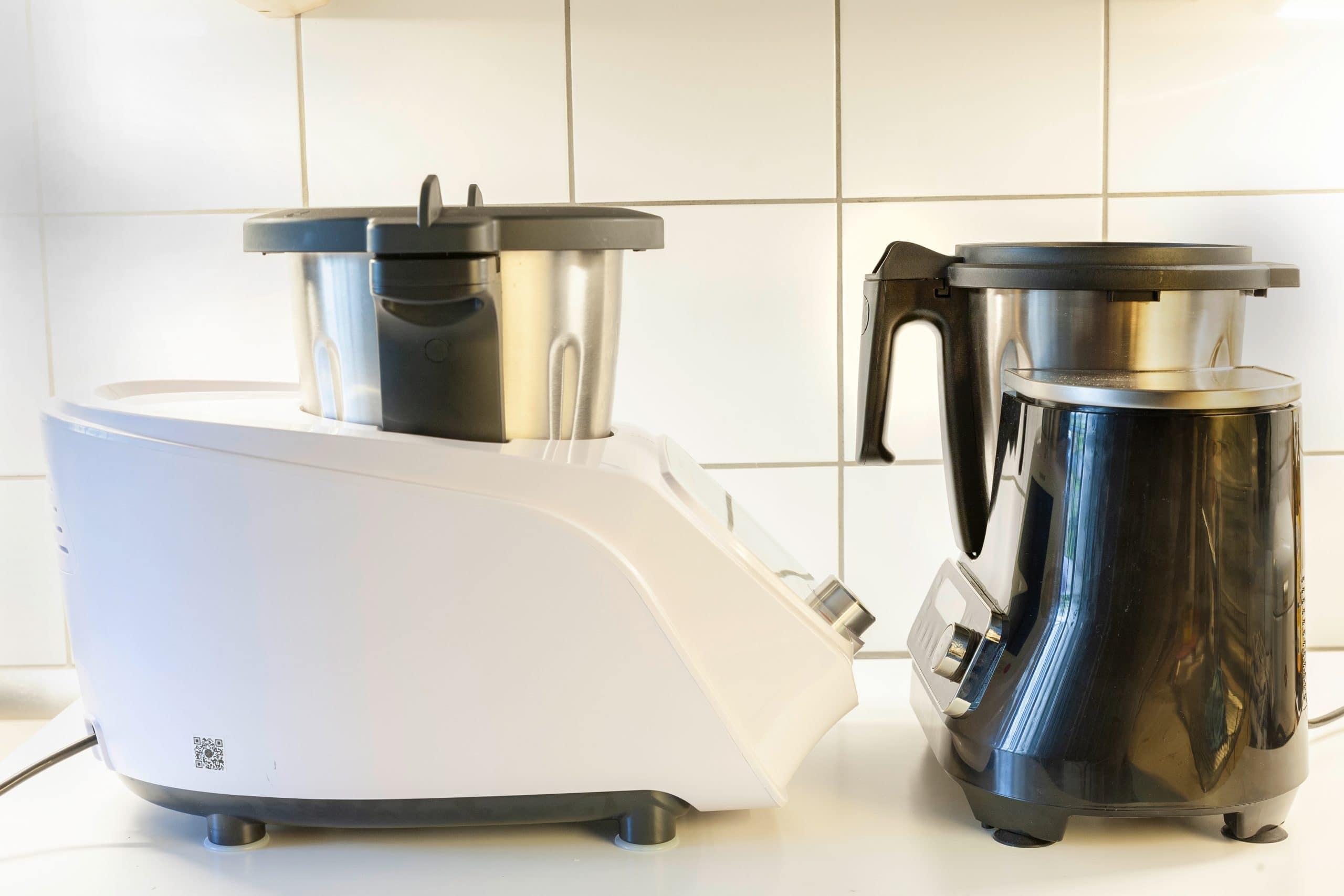 Küchenmaschinen Größe im Vergleich
