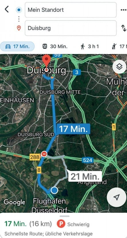 App Google Maps Tipp 7