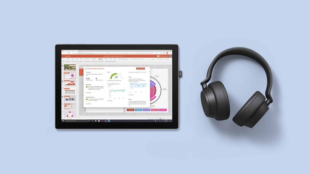 Mit den Headphones 2 Plus haben Geschäftskunden mehr Kontrolle in Microsoft Teams Sitzungen. (Bild: Microsoft)