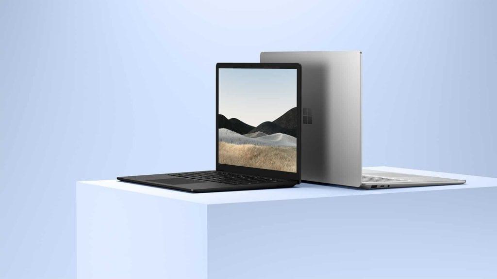 Das Surface Laptop 4 ist Microsoft neuestes Notebook, wahlweise mit Intel oder AMD. (Bild: Microsoft)