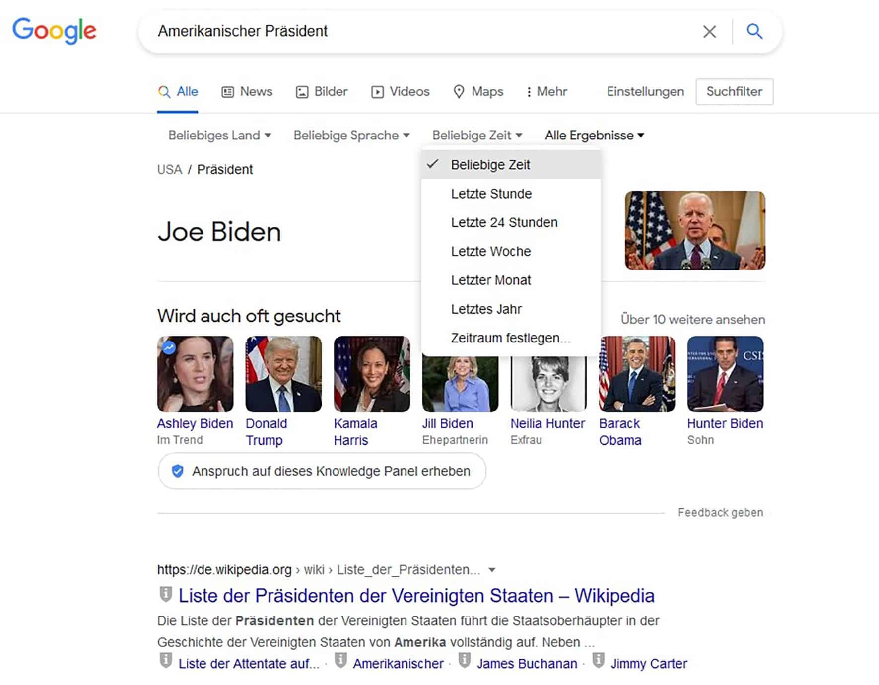 Google Suche Filter Tipps