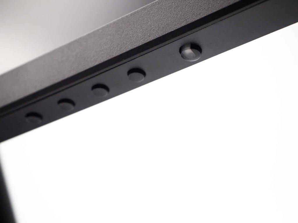 Mäuseklavier: Tasten an der Unterseite sind elegant, aber schlecht erkennbar.