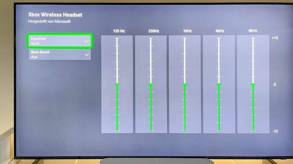 Feinjustierung: Mit dem 5-Band-Equalizer lässt sich der Klang individuell anpassen.