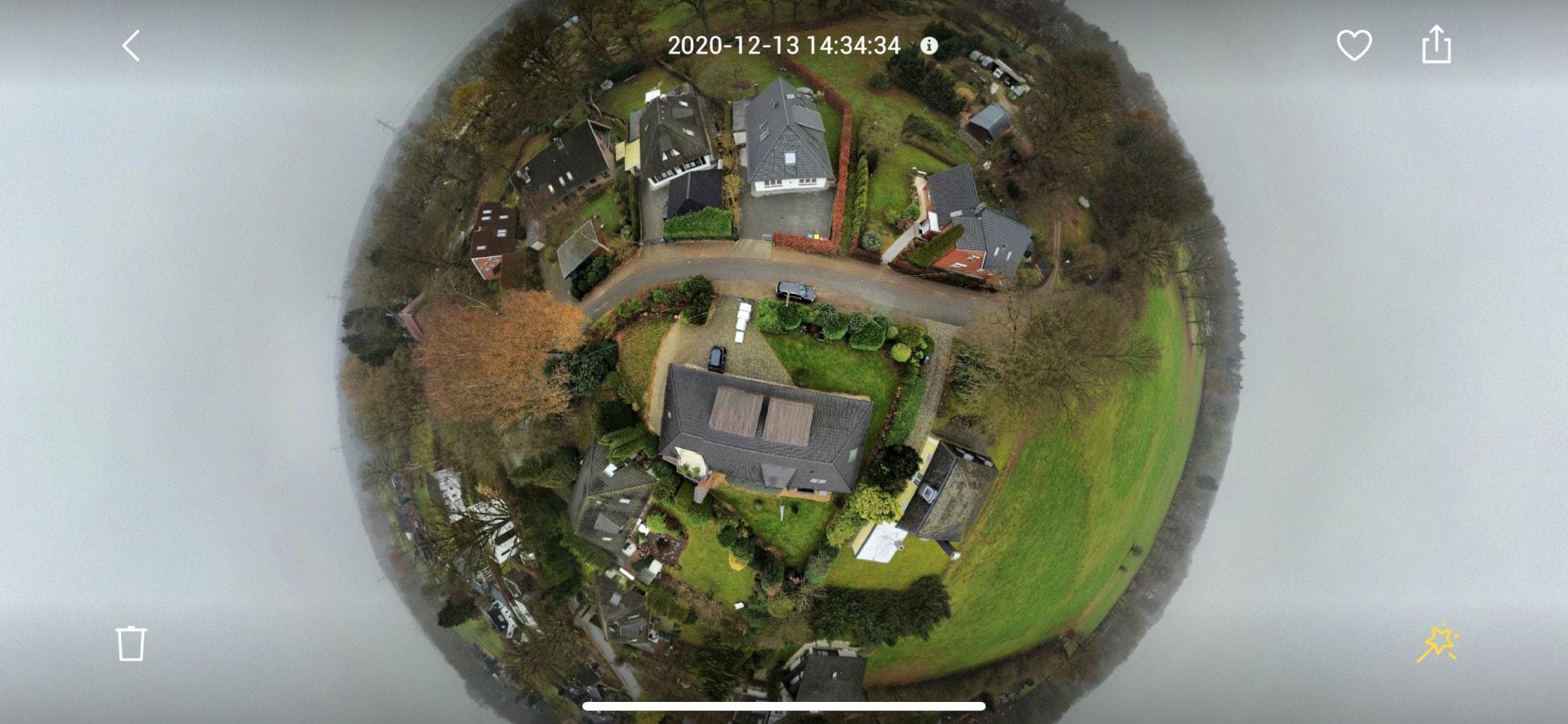 Drohnen Panoramafunktion