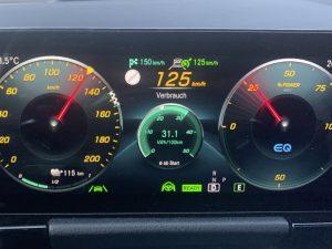 Display Mercedes EQA