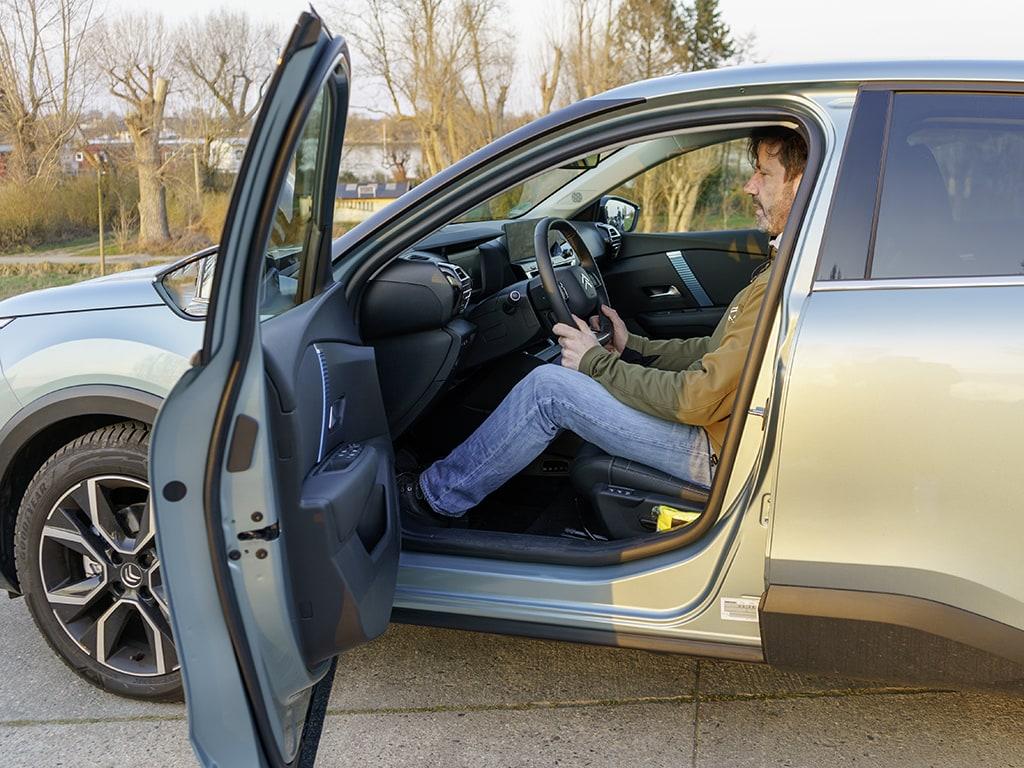 Citroën ë-C4 Platz für Fahrer