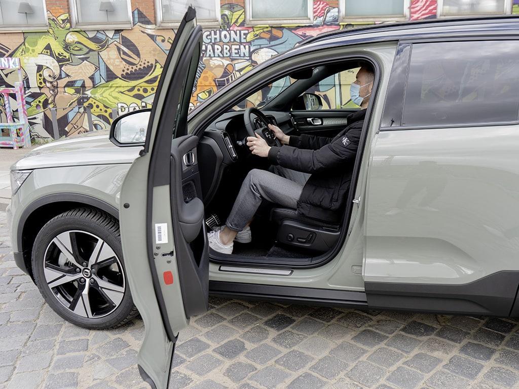 Volvo XC40 Fahrer