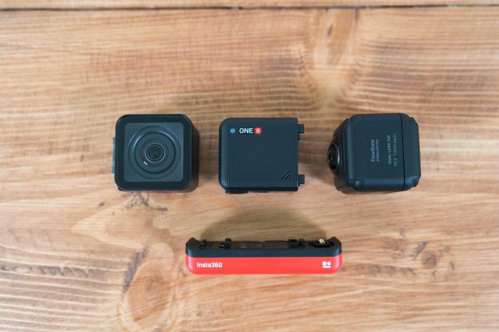 Insta360 One R mit Baukasten System