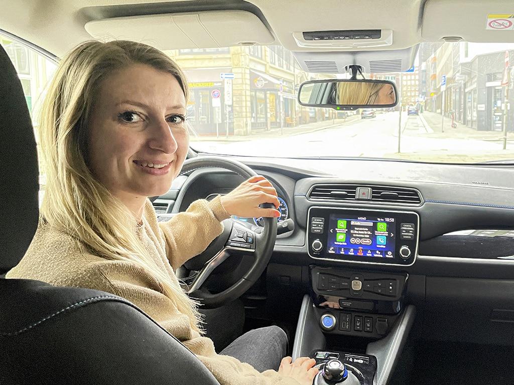 Nissan Leaf: Meinung_Caroline