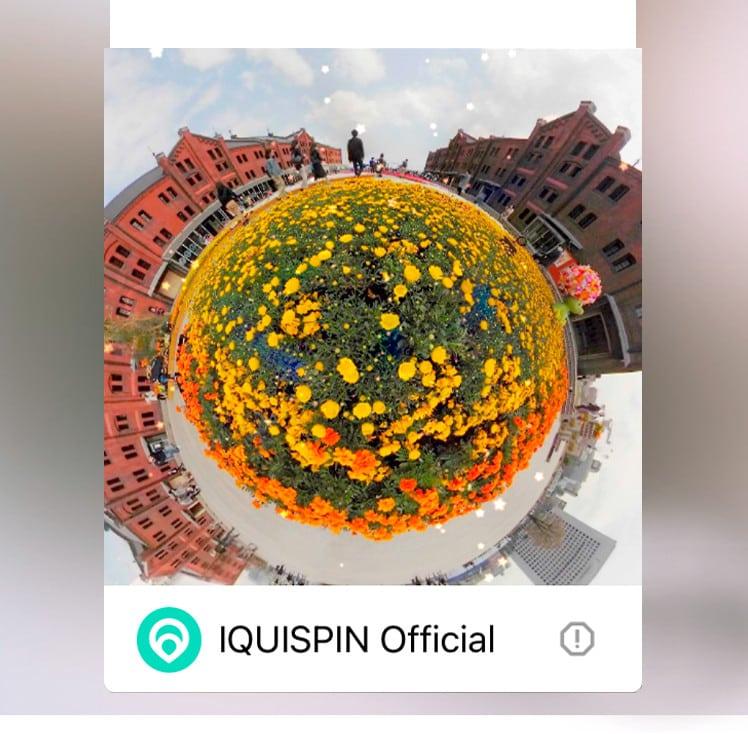 IQUISPIN App für die Pocket Cam