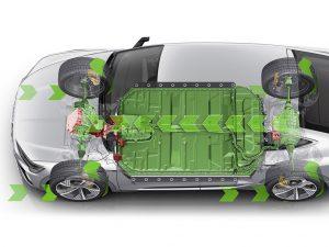 Rekuperation beim Audi e-Tron