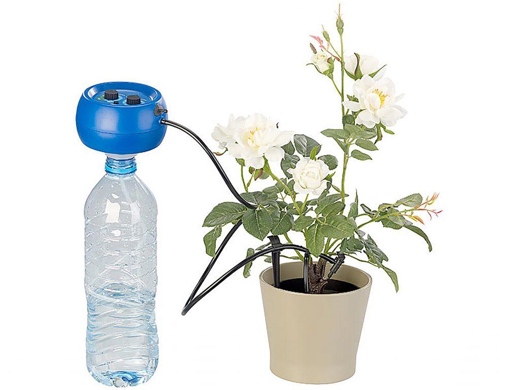 Smartes Bewässerungssystem für den Balkon