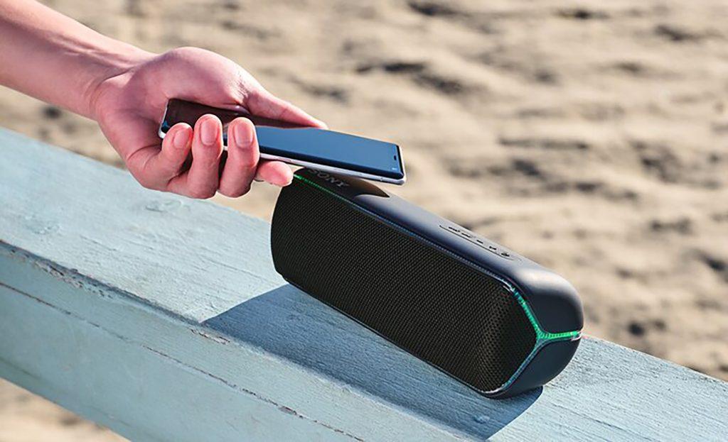 Sony Lautsprecher als Balkon-Gadget