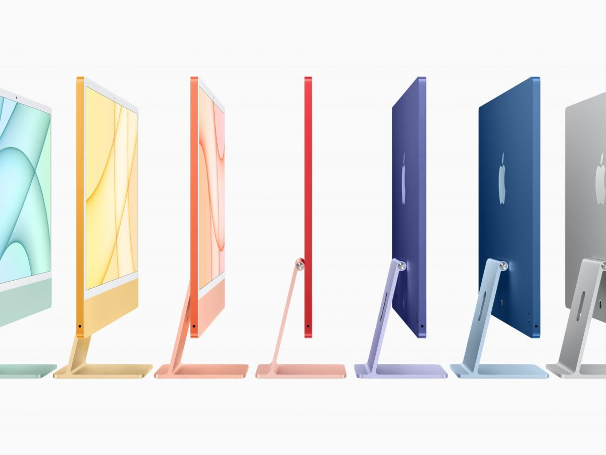 Apples neuen iMac gibt es in 7 unterschiedlichen Farben
