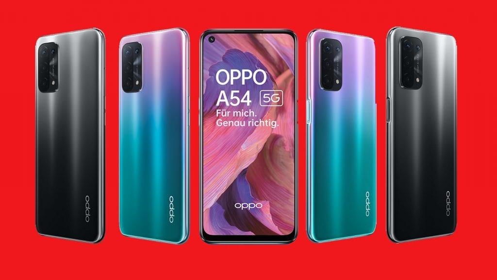 Das Oppo A54 5G soll einen günstigen Einstieg in Oppos Smartphone-Sparte bieten