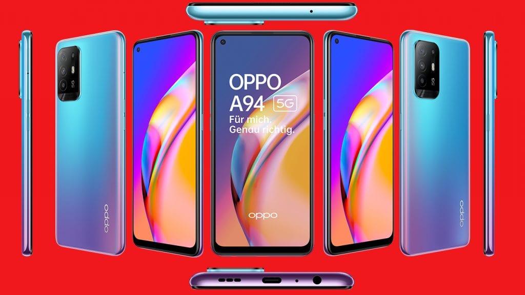 Das Oppo A94 5G ist das