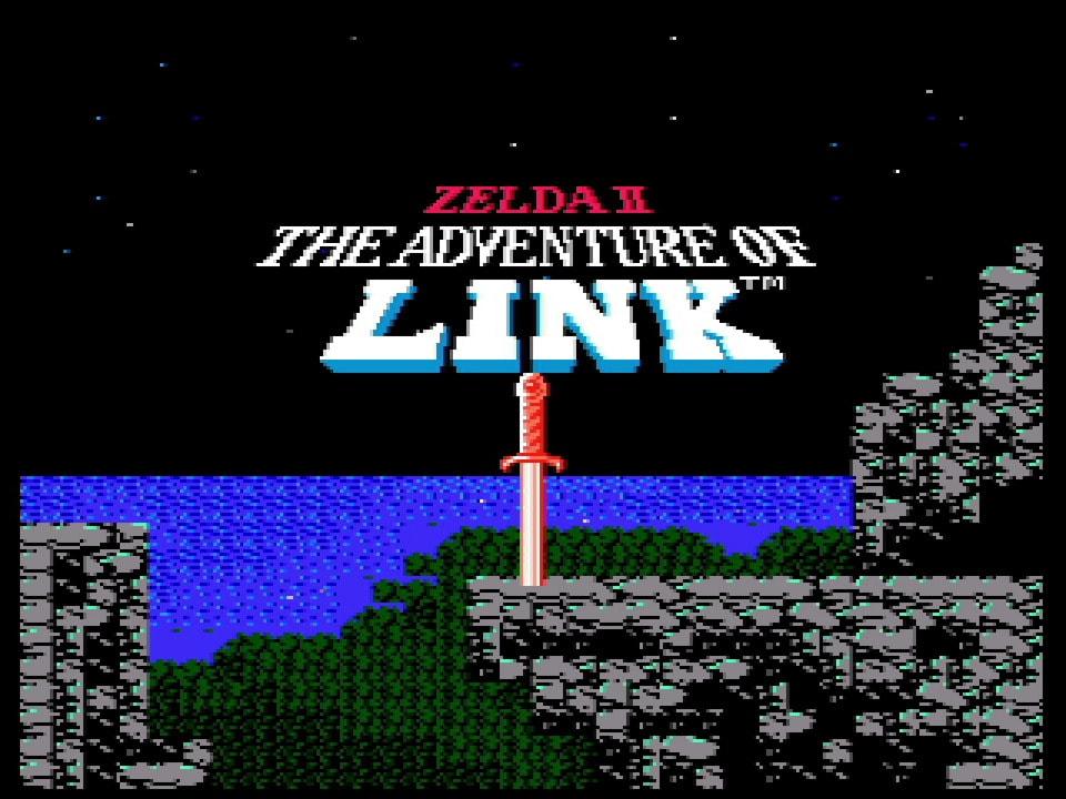 GameWatch Zelda II Präsentation