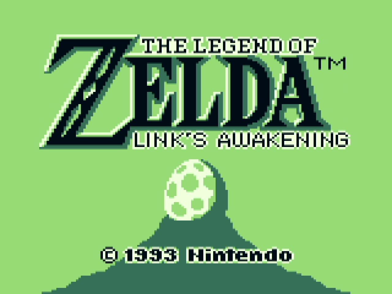 GameWatch Zelda Links Awakening Präsentation