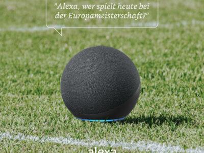 Alexa: Extras für Fußball-Fans rund um die EM