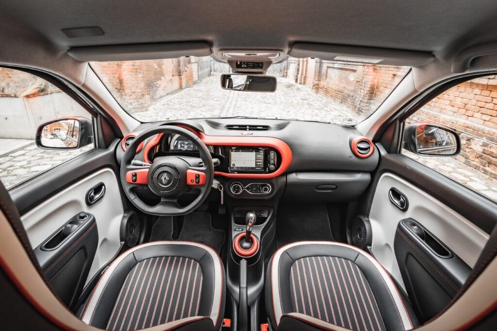 Renault Twingo Elektro Innenraum