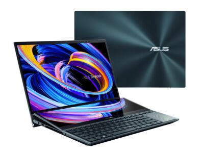ZenBook Pro Duo 15 OLED mit mehr Leistung und Schärfe