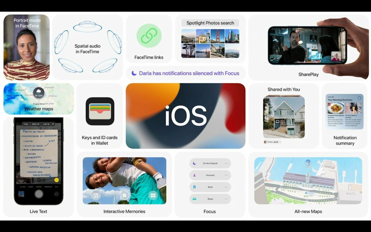 Apple iOS 15 Titelbild